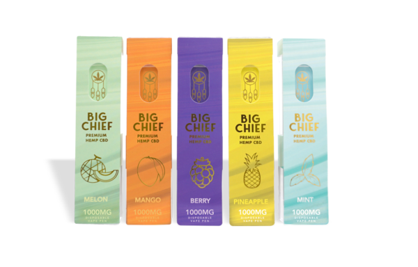 Buy BIG CHIEF CBD CARTS VARIETY PACK Online, Buy Big Chief Carts Online, Big Chief Flavors Online, Big Chief Extract flavors.